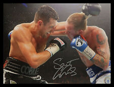 More details for george groves signed 12x16 boxing photograph : a