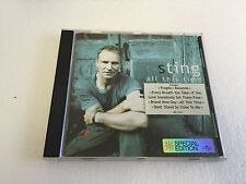 Sting : All This Time CD (2001) V NR MINT
