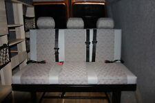 3 Seat Rock And Roll Bed/Seat VW T4, T5, T6, Vivaro, Transit, Bongo ect...