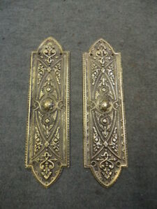 Pair of Heavy Quality  Brass Finger Plates