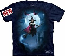 The Mountain Adult Unisex Graphic Tee Witches Flight X-Large