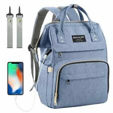 Upgraded Diaper Bag,Large Capacity Baby Diaper Backpack,Multi-Function Travel