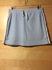 SO Juniors/Girls Tennis Light Blue Skirt L, Pre-owned