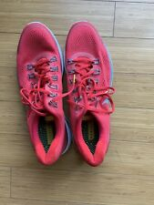 Nike Lunarglide Livestrong Red Pre Owned Mens Running Shoes Size 14