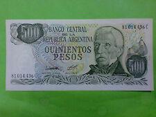 Argentina 500 Peso (UNC)