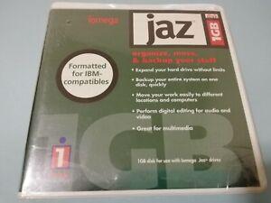 Sealed OEM iomega Jaz 1GB IBM-MAC Formatted Disk for Use w/ iomega Jaz Drives