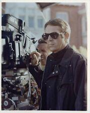 Steve McQueen Bullitt Behind the Scenes movie Camera Vintage 8x10 Color Photo