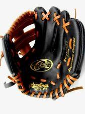 Rawlings Baseball Softball Glove Left Handed Glove 9 inch ( 22.9 cm ) Black Tan