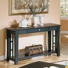 Steve Silver Company Cidy Black Sofa Table