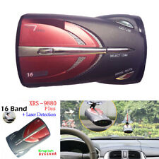 Car 16-Band Led Gps 360° Laser Anti Radar Detector Voice Alert Upgraded
