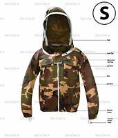 Camouflage Coton Apiculture Vestes Résistant Unisexe Abeille Multiple Tailles