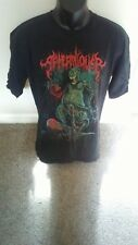 Afterallover Death Metal Band Double-Sided Black T-Shirt - Size Xl - Rare