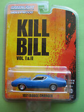 "GREENLIGHT HOLLYWOOD 2015 SERIES 10 ""KILL BILL"" 1971 DODGE CHARGER NEW!"