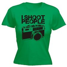 I Shoot People WOMENS T-SHIRT tee Camera Photographer photo funny mothers day