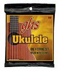 GHS 100 Baritone Ukulele String Set Black Nylon With Tie Ends 28-34 Gauge for sale