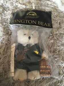Vintage Ringtons Tea Teddy Bear