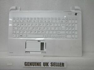 NEW Toshiba Satellite L50-B Palmrest UK Keyboard Top WHITE Plastic A000295780