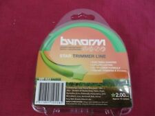 3 x Bynorm Round Trimmer Lines 2.00mm X 15m 380-623 WHIPPER SNIPPER CORD NEW