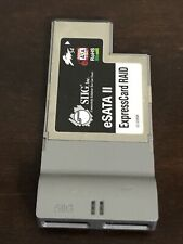 eSata Ii ExpressCard/54 Raid Siig 2-eSata ports