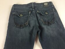 Rock & Republic Kurt Jeans Womens 27 Tall Long Boot 31 x 35 Actual Denim Pants