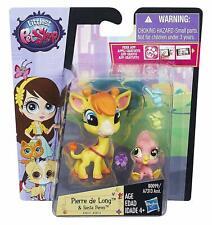 Littlest Pet Shop Pierre de Long & Siesta Perez - Giraffe & Pink Flamingo  *NEW*