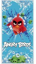 Angry Birds Toalla de baño/Toalla playa / / Toallón baño 140x70 Rojo pájaro