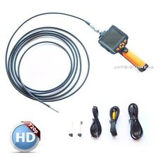 Profi HD 8mm 5-metro color endoscopio cámara tubo cámara borescope endoskopkamera