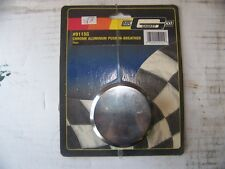 1-NEW Mr Gasket Chrome Aluminum Push-In Breather #9115G