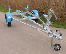 Bootsanhänger Anhänger Trailer von 10-18 Fuß Boot Kielrolle schwenkbar 750kg NEU