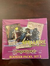Spellfire CCG, Set 3, Dragonlance, Booster Packs Display