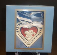 Wedgwood 1st First Christmas Together Ornament 2006 Heart Porcelain $40 Nwt