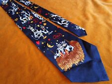 Vintage Fratello Funny Cow Sex Print Collectible Party Classic Tie