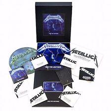 METALLICA - RIDE THE LIGHTNING - DELUXE BOX SET - 6 CD + 4 VINYL + DVD + POSTERS