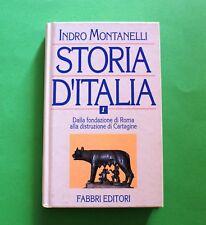 Storia d' Italia - Indro Montanelli - Vol. 1 - Ed. Fabbri 1994