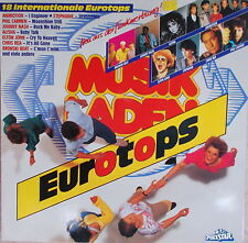 "12 ""LP Musikladen Eurotops 18 internationale Tops 1986,VG++ ,Polydor 819 621-1"