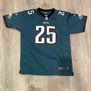 CLEAN NFL Philadelphia Eagles LeSean McCoy # 25 Jersey On Field Size Youth XL