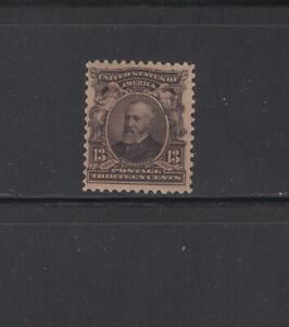 US Scott 308 Mint Regummed (?)