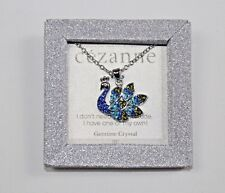 Cezanne Genuine Crystal Peacock Pendant Necklace I Dont Need Your Attitude!