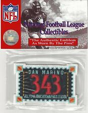 Dan Marino 343 ALL TIME TD Leader Jersey Patch Official NFL Licensed RETIRED