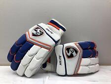 Sg Hilite Cricket Batting Gloves White and Blue (Size : Men) Original Free Shpng