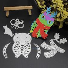 7Pcs Fat Bird Cutting Die Stencil DIY Scrapbooking Paper Embossing Card Craft