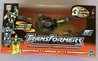 Transformers RID Robots In Disguise 3 Pack Nightcruz Mirage GT Scavenger