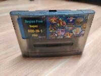 800 in 1 Multi Cartridge 16 Bit Retro Game Console For Snes Console