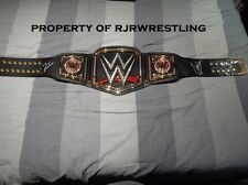 WWE JINDER MAHAL & AJ STYLES SIGNED JAKKS ADULT SIZED COMMEMORATIVE REPLICA BELT