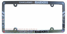 Wincraft NFL oakland Raiders License Plate Frame Full color New