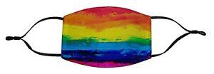 Face Mask Washable Reusable Rainbow Design