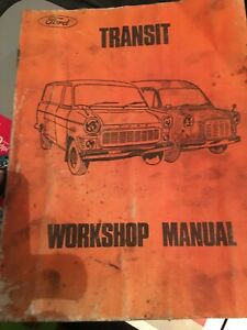 FORD TRANSIT 4-6 CYL PETROL EARLY FORD WORKSHOP MANUAL