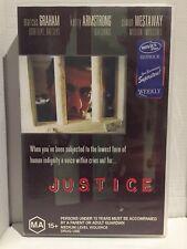 JUSTICE~MARCUS GRAHAM~KERRY ARMSTRONG~SIMON WESTAWAY~RARE AUSTRALIAN VHS VIDEO