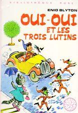 OUI-OUI et les trois lutins // Enid BLYTON // Mini Rose // Bibliothèque Rose