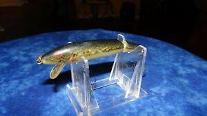 VINTAGE REBEL JOINTED FLOATER BASS COLOR LURE OLD FISHING LURES CRANKBAIT BASS